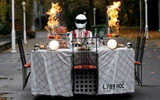 德國埃森車展  會跑的最牛「餐車」亮相