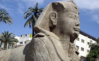 埃及出土12尊2300多年前獅身人面像