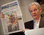 """""""维基解密""""创始人阿桑奇(Julian Assange)。(AFP)"""