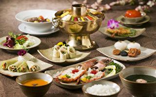 美味可口的韩国传统自助餐