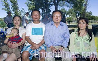 天安门三君子喻东岳家人出境被禁