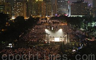 香港特首大陸微博被「河蟹」內容涉六四圖文