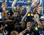 图:欧洲冠军国际米兰在2010年最终成就意甲历史上第一个五冠王伟业。(AFP)