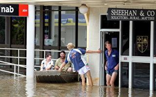 澳洲總理呼籲為昆省洪水災民賑災