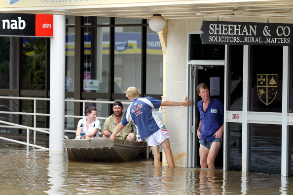 澳洲总理呼吁为昆省洪水灾民赈灾