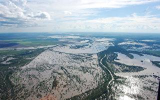 組圖:澳洲昆省遭受嚴重水災