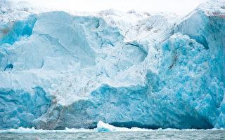 科学家预言百年内北冰洋冰川将消失,图为在挪威境内的康司柏林冰川(Kongsbreen glacier)。(AFP)
