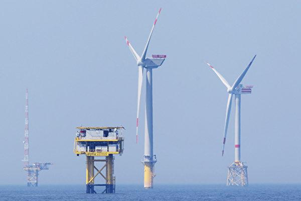 離岸風能發電場。馬州州長馬丁.奧馬利希望在2011年以前馬州的能源需求達到20%來自再生資源的提供。(圖片來源:Sean Gallup / 2010 Getty Images)