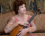 世界頂級大提琴家克里絲汀‧瓦列芙斯卡(Christine Walevska)近照。(圖片來源於瓦列芙斯卡女士網站)(攝影:Anthony Jalandoni)