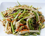 中国14亿人口中,素食者占的比例不到4%。(摄影:江柏逸/大纪元)