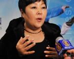 專為韓國知名影星化裝的韓國化妝藝術家鼻祖、誠信女子大學教授Lee Kyung Min(攝影: 李裕禎/  大紀元 )