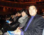 首爾特別市議會文化體育觀光委員長金顯基與夫人(攝影:曾嘉連  / 大紀元)
