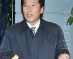 江原道議會副議長丁乙權(Jeong Eul Gwon)(攝影: 李裕貞 / 大紀元)