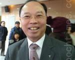 京畿道龍仁銀行支店長Lee Myoung Seok(攝影: 李美京/ 大紀元)