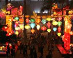 2011年2月17日元宵节尖沙咀文化中心彩灯会现场(摄影:潘在殊/大纪元)