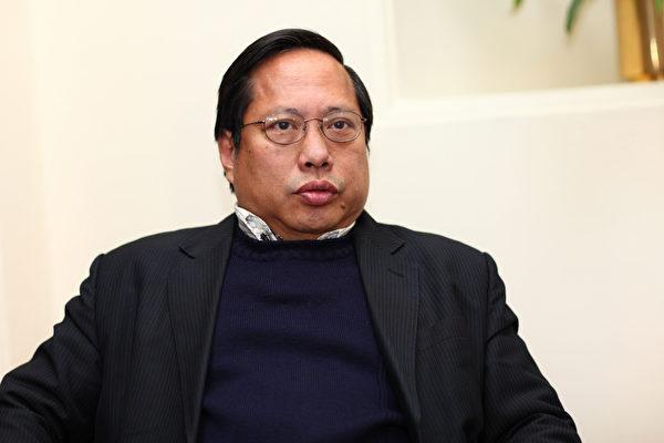 立法会议员何俊仁(摄影:潘在殊/大纪元)