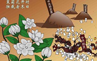 雙元漫畫:茉莉花開時  獨裁者末日