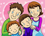懂得家人之间的爱之语可以让亲子关系更美好。(Fotolia)