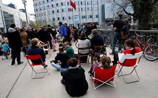 「1001把椅子」柏林舉行聲援艾未未活動