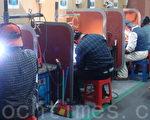 韩国富川电焊学院培训在韩中国同胞。(图片由韩国富川电焊学院提供)