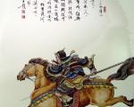 图为王双宽《百位英雄榜》──杨再兴。