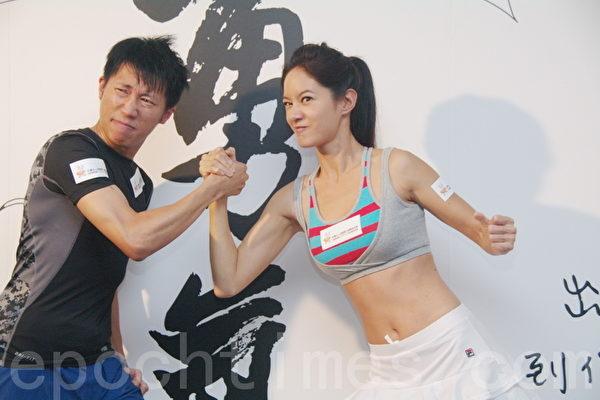 Janet陈彦博赛划舟 鼓励少年勇于筑梦