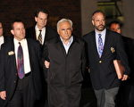IMF总裁卡恩15号被纽约警察局逮捕(AFP)