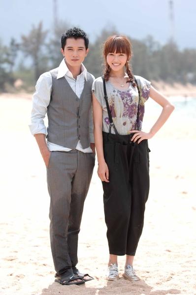 《把愛搶回來》最近將播出,戲裡戲外邱澤與唐嫣的戀情受到矚目(圖/台視提供)