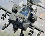 阿帕奇武装直升机。(Photo credit should read JUNG YEON-JE/AFP/Getty Images)