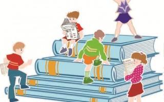 让孩子每日阅读报纸,吸收国内、外新知,就像站在高处看世界。(photos)