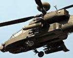 阿帕奇AH1战斗直升机。    (图片来源:Getty images)