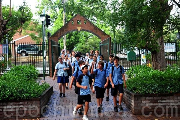 新州政府擬對學校安全法律進行30年來最大的一次改革。(簡沐/大紀元)