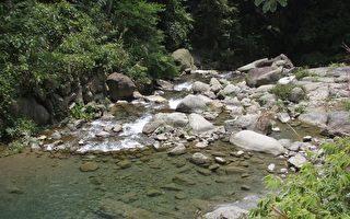 打比厝溪水源头,请共同维护洁净。(新竹林管处提供)