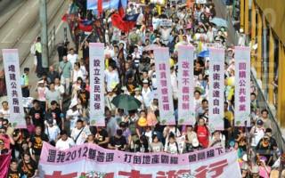 香港7.1遊行 警方武力清場抓捕228人