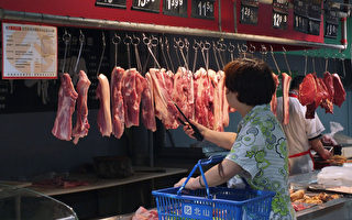 大陆6月CPI升6.4% 猪肉比去年贵6成