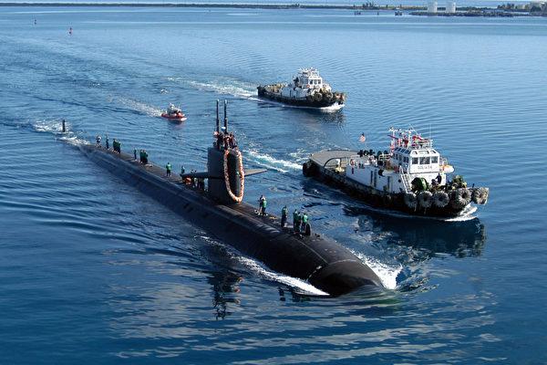 美国冷战武器今派用场:俄亥俄级核潜艇