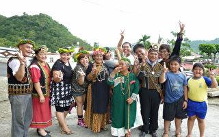 公视《谁来晚餐3》日前拜访位于屏东原住民家庭,邀请以胖为傲的杜诗梅来家用餐。(图/公视提供)