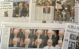 由默多克的《新闻集团》引起的窃听风暴继续延烧到其它的英国媒体   (图片来源:Getty Images)