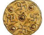 希腊Skyros金盘。(图︰瑞典国家历史博物馆提供)