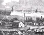 天津城外东南角景色,为英国随军画师所绘制
