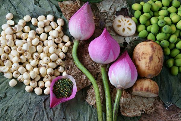 蓮花全株都可食用,有養生功效。(Shutterstock)