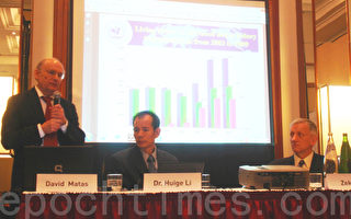 歐洲器官移植大會上舉辦反對活摘器官研討會