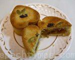 好吃的地瓜核桃酥(摄影: 刘玉婵 / 大纪元)