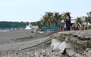 旗津海滩流失 高雄7亿救国土