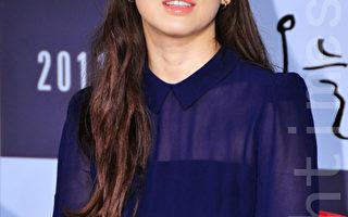 宋慧乔出席新电影《今天》首映会。((摄影:李裕贞/大纪元)