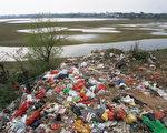 中国70%江河水系受到严重污染。(AFP)