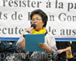 抗議越南當局受迫中共抓捕判刑記者