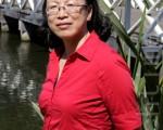 叶绿素f发现者澳洲科学家陈敏博士。(摄影: 袁丽 / 大纪元)