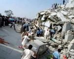 倒塌的建筑物