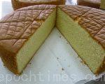 香软的海绵蛋糕(摄影: 刘玉婵 / 大纪元)